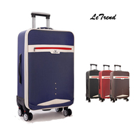 Letrend New Fashion Oxford Rolling Luggage Student Travel Bag Trolley Suitcases Password box Trunk Boarding Box 20/24/28 inch