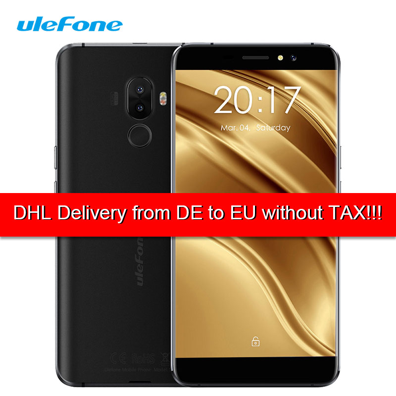 Ulefone S8 Pro 4G LTE Dual Sim Smart Phone Android 7.0 Nougat 2GB+16GB Fingerprint Mobile Phone Cellphone 1280*720 IPS 3000mAh