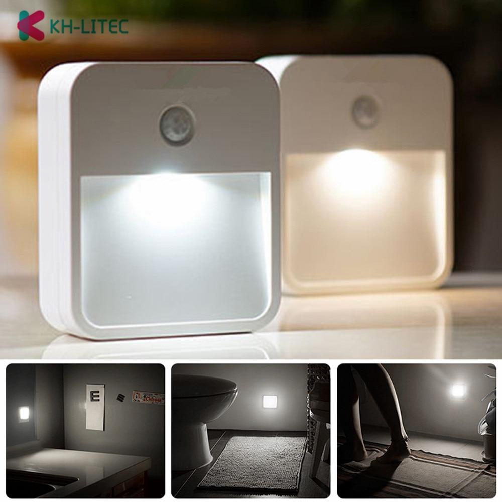 Night Light Fixtures: KHLITEC PIR Motion Sensor LED Wall Lights Night Light