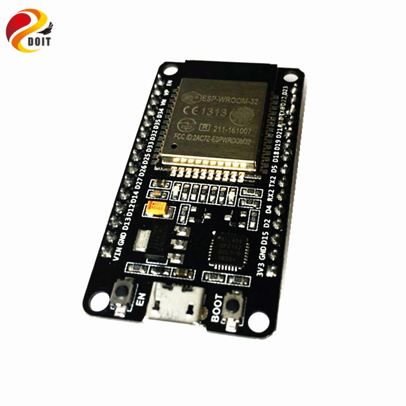 Official DOIT ESP32 Development Board WiFi+Bluetooth Ultra-Low Power Consumption Dual Core ESP-32 ESP-32S ESP 32 Similar ESP8266
