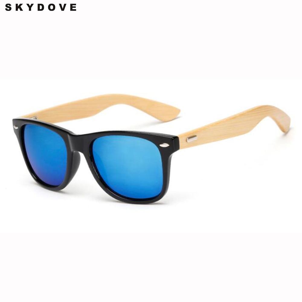 skydove bmaboo sunglasses women men wooden retro sun glasses lunette de soleil femme 2018 marque