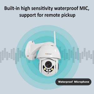 Image 5 - Jennov PTZ IP מצלמה 1080P 2MP HD Wifi חיצוני אבטחת מצלמה Wi Fi עם ראיית לילה אלחוטי טלוויזיה במעגל סגור עבור בית וידאו מעקב