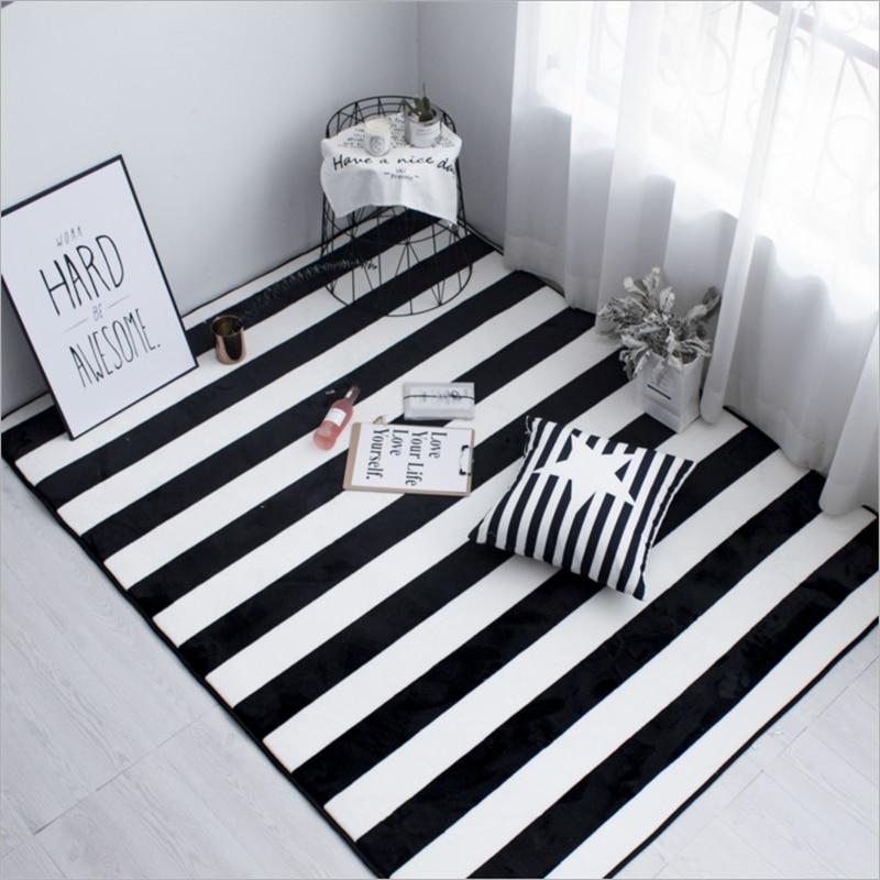 Bedroom Carpet Online Toddler Bedroom Door Gate Bedroom Ceiling Design 2017 Elephant Bedroom Decor: Simple Black And White Carpet Soft Large Carpets For