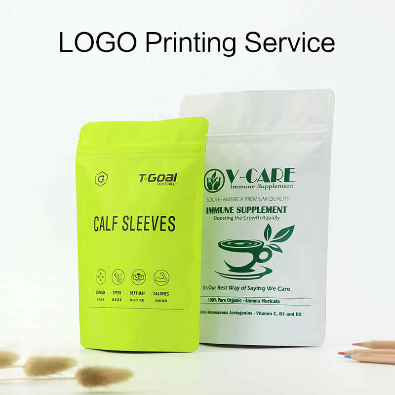 Small quantity custom logo printing service on bag  customized printing bag service