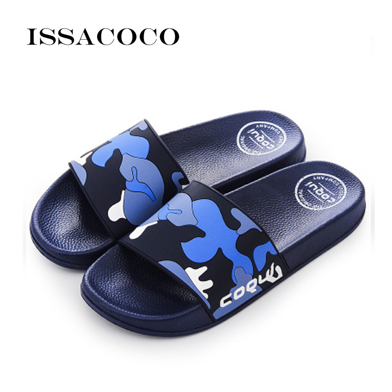 ISSACOCO 2018 Chaussures Hommes Tongs Pantoufles Sandales Hommes - Chaussures pour hommes - Photo 2