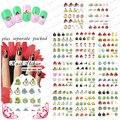 Beautynailart 90 UNIDS/LOTE BLE1588-1598 Pájaros de la Historieta Pegatinas de Uñas de Arte de Uñas Postizas de Diseño Manicura Tatuajes de Nail Art Agua Decal