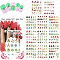 Beautynailart  90PCS/LOT BLE1588-1598 Cartoon Birds Nail Art  Stickers False Nail Design Manicure Decals Nail Art Water  Decal