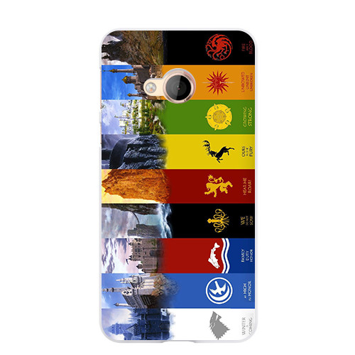 Cute Cartoon Case For HTC U PLAY Hard Plastic Case Fashion Printed Cover Game of Thrones 7