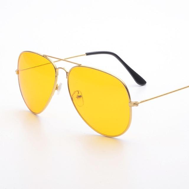 b75bd763ed2 Polarized Night Vision Sunglasses Men Women Goggles lunette Glasses UV400  female Sun Glasses Driver Night Driving