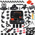 QQT pour gopro accessoires set pour gopro hero 5 étui étanche protection 3 voies monopode pour Gopro7 6 5 4 3 + 3 accessoires caméra