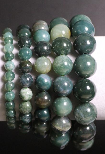 Bracelet Jaspe Vert Pour Femme 3