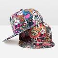 Cool! Snapback Cap Men Women New Fashion Cartoon Monster Baseball Cap Hat Letter Hip Hop Cap For Women Adjustable Brand Hat