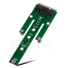 NGFF M.2 B Ключ с интерфейсом SATA SSD MSATA конвертерная плата адаптера 22x60 мм