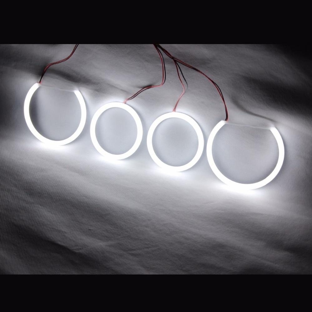 Angel Eyes Cotton LED Light Headlights Running Light  DRL Turn Light For BMW E90 E60 E61 E82 E87 E88
