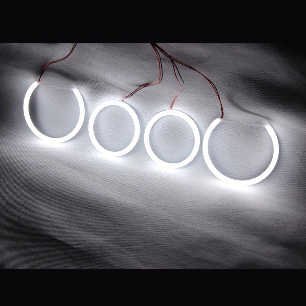 farol de led com olhos de anjo de algodao para corrida drl para bmw e90 e60