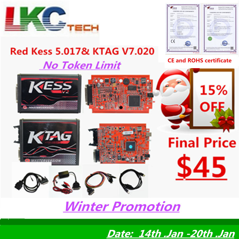 Buy Cheap Kess V2 Master Kessv2 V2.47 V2.23 V5.017 Eu Red Pcb No Token Limit Ecu Programming Ktag Obd2 Manager Tuning Kit For Car/tractor