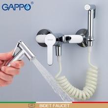 GAPPO Bidet Wasserhahn bad bidet wc sprayer bidet mixer muslimischen dusche wand halterung bidet mischbatterie muslimischen dusche ducha higienica