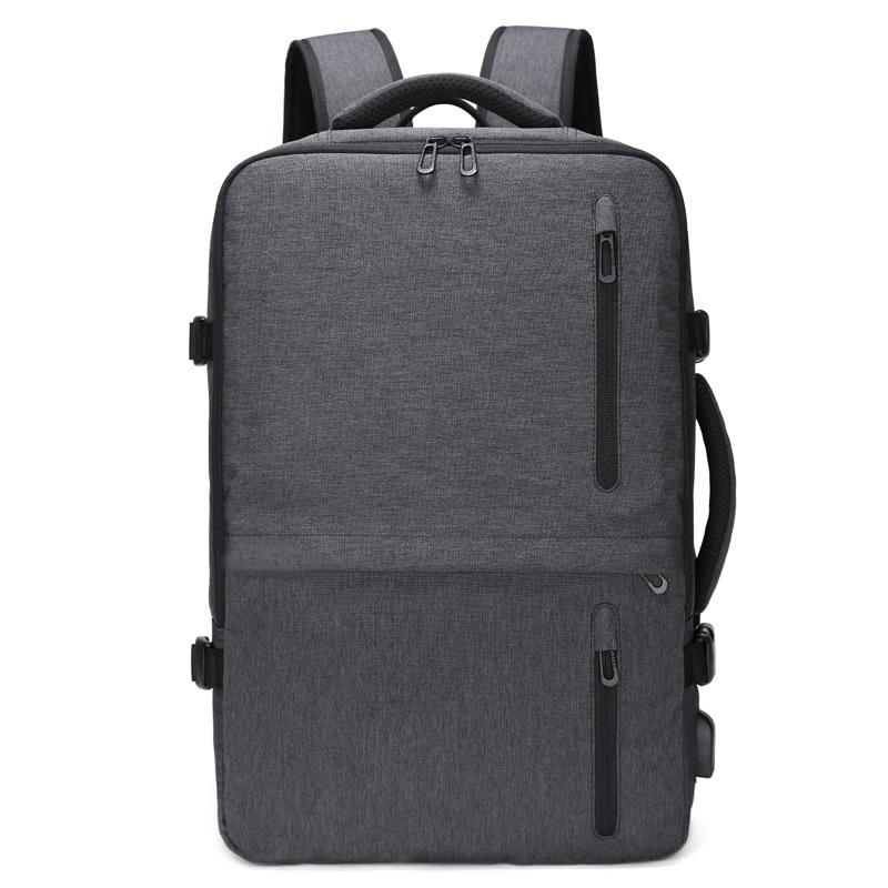 """男性大容量トラベルバックパック拡張多機能 USB 充電 15.6 """"ラップトップ撥水ビジネス男性 Mochila a171  グループ上の スーツケース & バッグ からの バックパック の中 1"""