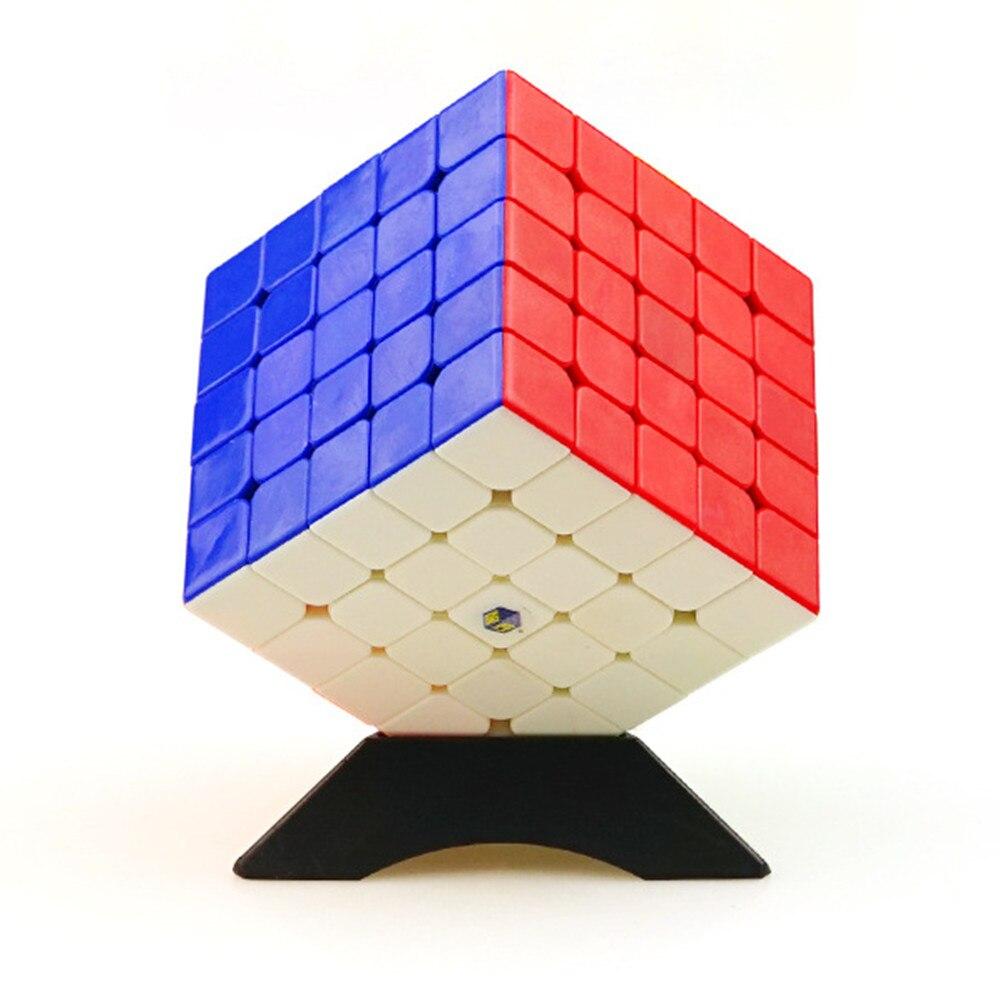 Zhisheng Yuxin Nuage Kylin 5x5x5 Cube Stickerless Cube Puzzle Jouets pour Débutant et Enfants Enfants Cubo Magico Cadeau