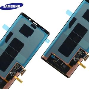 Image 5 - ЖК дисплей Super AMOLED для Samsung Galaxy NOTE 9 N960D N960F, сенсорный экран 6,4 дюйма, сменные детали с рамкой, оригинал