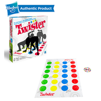 Hasbro Gaming Twister Indoor Fun Twister Toy Game For Children Adult Sports Moves Interactive Group Educational Toys