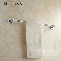 MTTUZK Brass Chrome Wall Mounted Bathroom Towel Holders Towel Bars Towel Racks Bathroom Accessories Top Quality