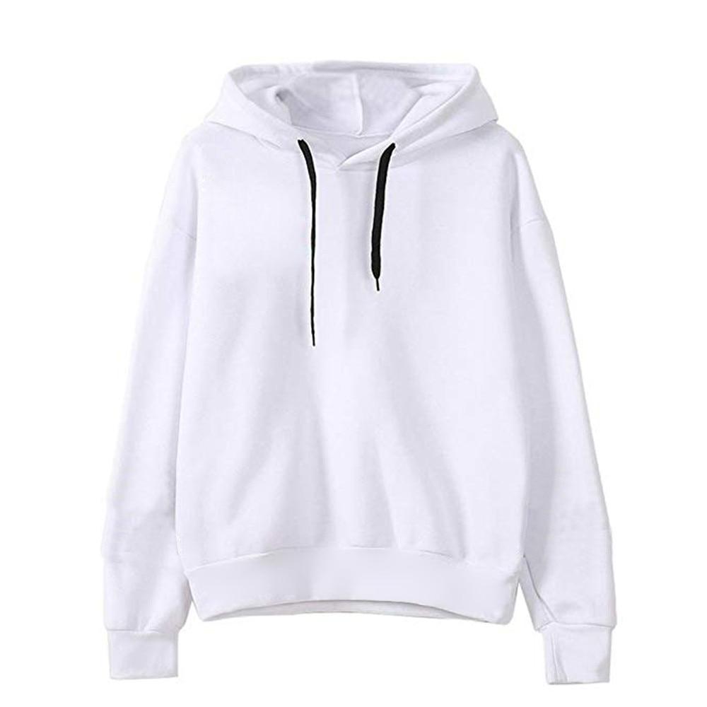 2018 Best Friend Women Hoodie Casual Long Sleeve Hooded Pullover Sweatshirts Letter Print Hooded Female Tracksuits Sportswear