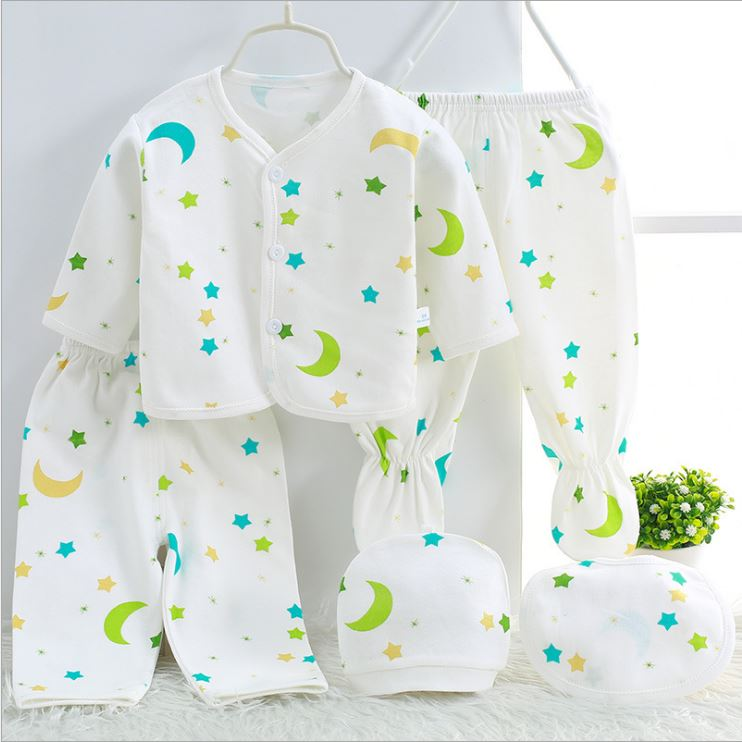 78ca3a8fab78c Newborn baby clothing sets baby girls boys clothes Hot new Brand baby gift  infant cotton Cartoon underwear (5pcs/set)-in Clothing Sets from Mother &  Kids on ...