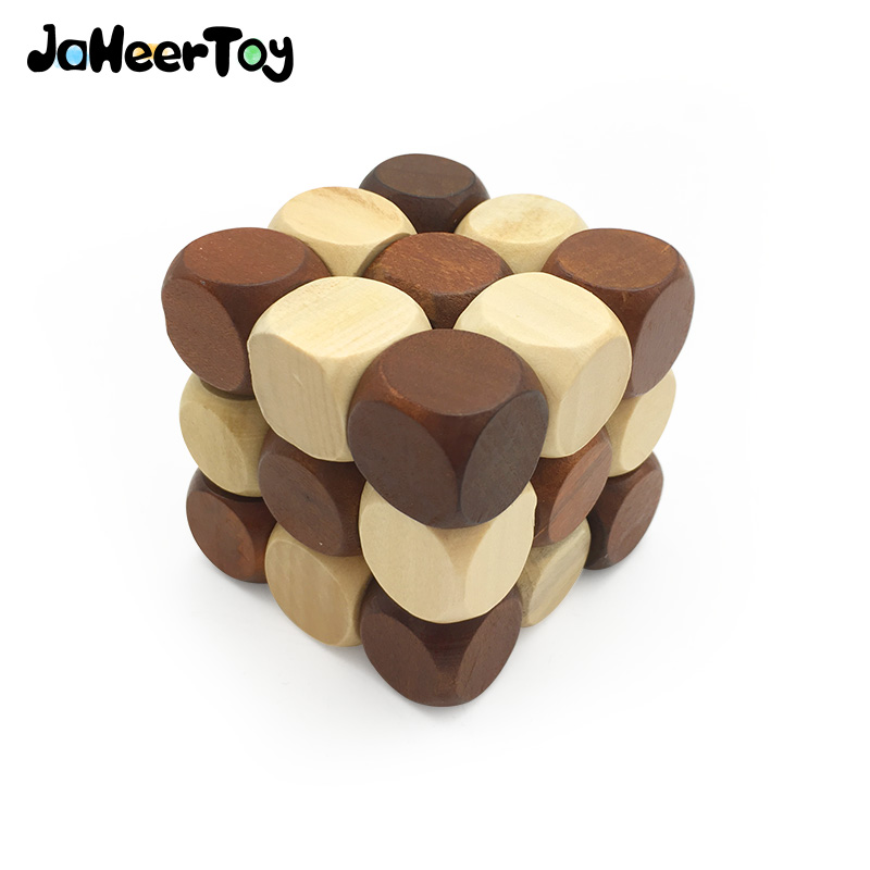 Jaheertoy Estereoscopica Cubo Magico Bebe Montessori Juguetes