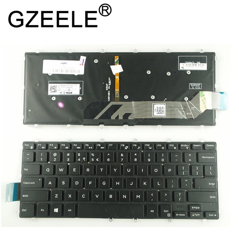 GZEELE New English Laptop Backlit Keyboard For Dell Vostro 14 5468 V5468 5471 Keyboard Backlight