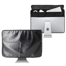 21 inch 27 inch Black Polyester Computer Monitor Dust Cover Protector with Inner Soft Lining for Apple iMac LCD Screen LA001(China)