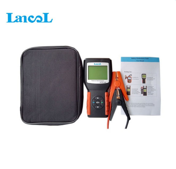 Hot selling Diagnostic tools Lancol Auto Car battery tester cca MICRO-468 battery analyzer 12v Lead-acid, EFB,AGM,GEL batteries ninth world new handheld storage battery tester car analyzer digital 6v 12v voltage capacity