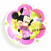 10pcs Cartoon Minnie Mouse Party Paper Plate Disposable Round Paperboard Cute Minnie Plate Birthday Dish Supplies  sc 1 st  AliExpress.com & Buy cute paper plates and get free shipping on AliExpress.com