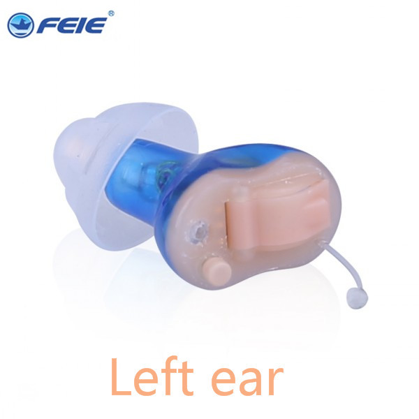 Feie Best Selling Mini In Ear Deaf hearing aid AIDS with 8 channels  S-17A tinnitus masker ear machine Drop Shipping feie hearing aid s 10b affordable cheap mini aparelho auditivo digital for mild to moderate hearing loss free shipping
