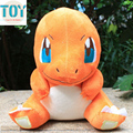 "New 1 PCS Poke Charmander Stuffed Plush Doll Cartoon Red Dragon Movies TV Kids Toys Big Size Approx 11"" Free Tracking"