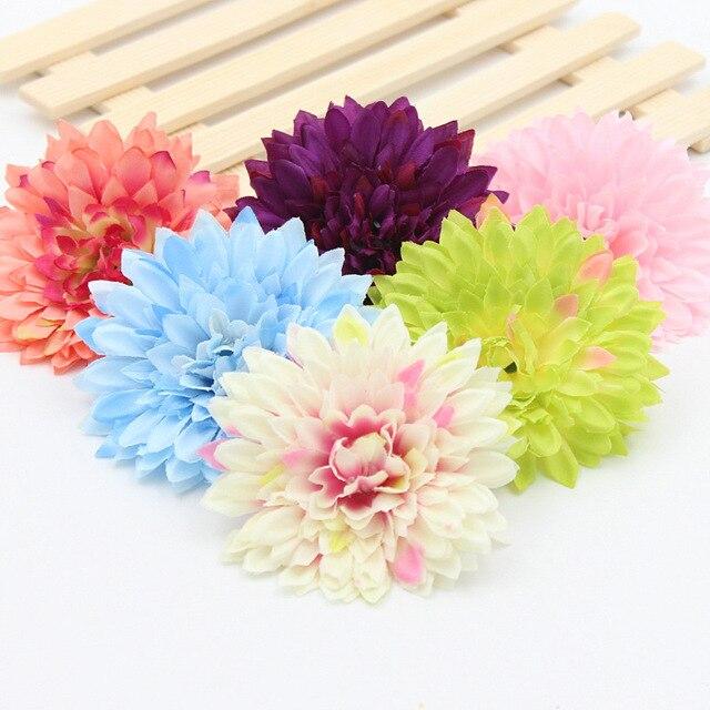 10 Stucke Gerbera Silk Blume Sonnenblume Heads Blumenstrauss