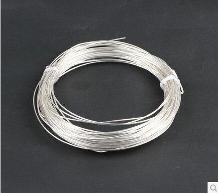 0.4mm,Pure silver wire,silver silk,handmade DIY jewelry ,Sterling silver accessories micromega ia60 silver