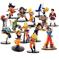8-21cm Dragon Ball Z SCultures Big Budoukai Series Action Figure Lazuli Nappa Raditz Goku Trunks Vegeta Satan Collection Model