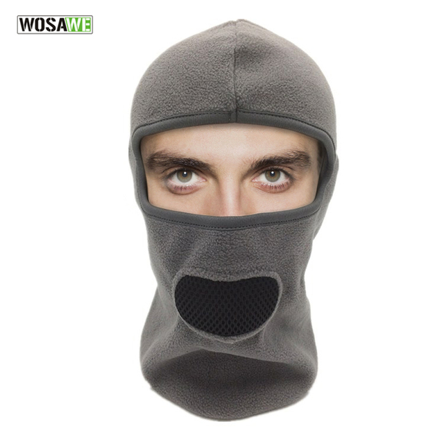 a9aaa553333 WOSAWE Sports Balaclava Ski Mask Dustproof Neck Warmer Hat Scarf Windproof  Tactical Motorcycle Hood Cycling Full Face Mask