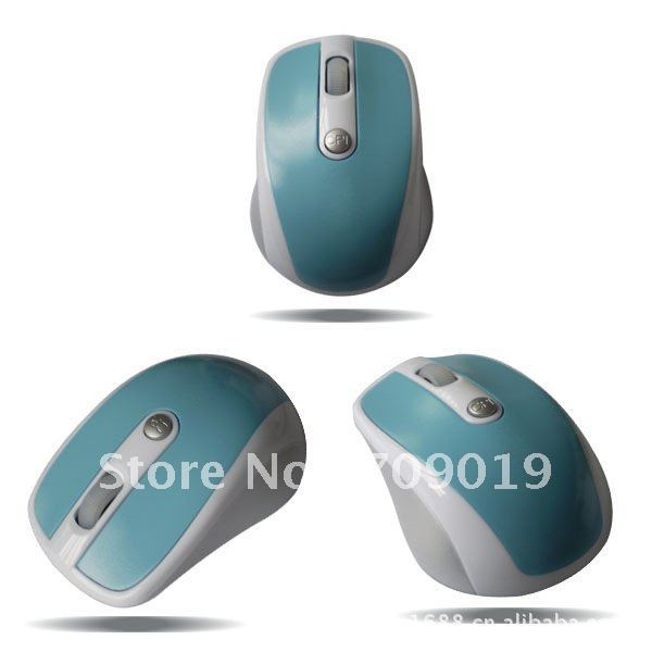 Supernova Sales,Wholesale Retail New 100% wireless 2.4G optical mouse,Free Shipping