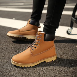 2018 Men boots Fashion Martin Boots Snow Boots Outdoor Casual cheap timber boots Lover Autumn Winter shoes HNM89