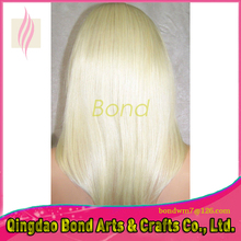 Hand Made Full Lace Human Hair Wigs Virgin Brazilian straight Lace Front Wigs with Baby Hair for African American