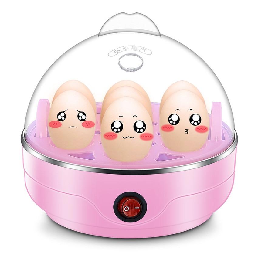 где купить Y-ZDQ1 Multifunctional Electric 7 Egg Boiler Cooker Mini Steamer Poacher Kitchen Cooking Tool 350W Blue/pink/white New 220V 50HZ по лучшей цене