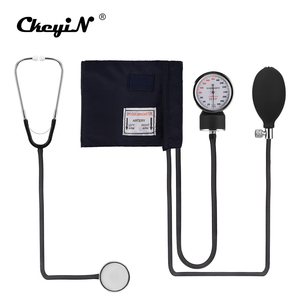 Image 3 - Professional Manual Sphygmomanometer Cuff Blood Pressure Monitor Stethoscope Doctor Household Measure Device With Bag