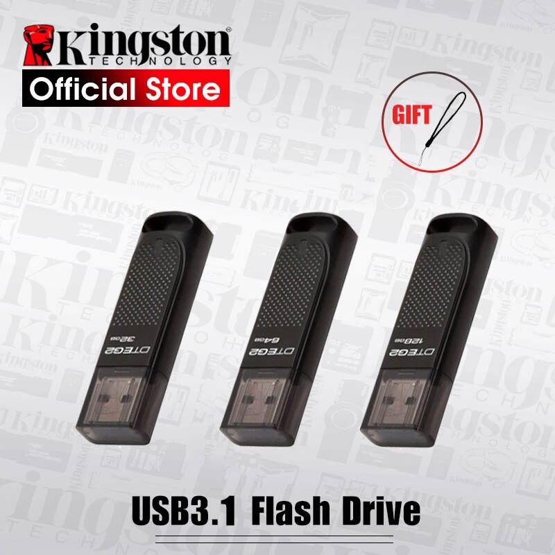 Nouveau Usb 3.0 Kingston USB flash drive 32 gb 64 gb 128 gb Clé USB Haute vitesse 180 mb/s Usb 3.1 pen drive paquet Flash Memory Stick