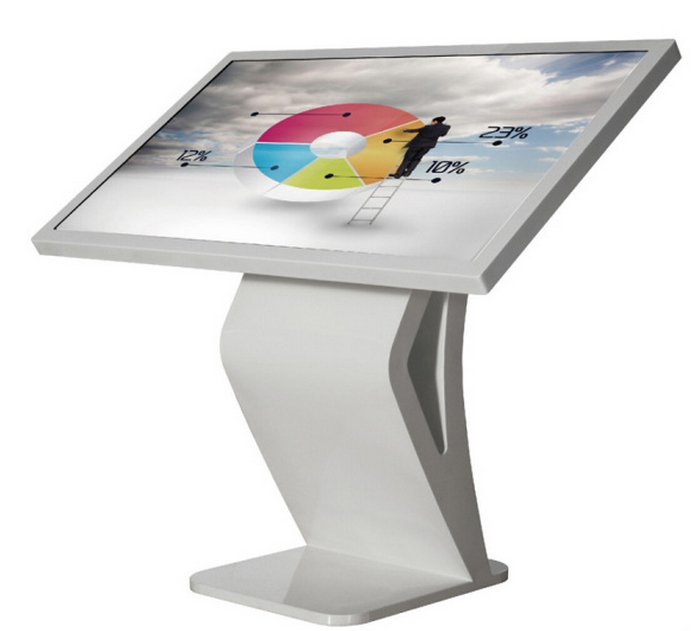 32 42 47 55 65 Inch LCD HD TFT HDMI 1080P Floor Standing Horizontal Multi Touch Screen Kiosk