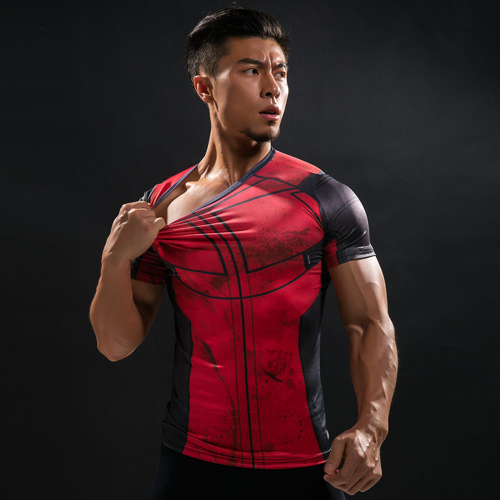 Punisher 3D Printed T-shirts Men Compression Shirts Long Sleeve Cosplay Costume crossfit fitness Clothing Tops Male Black Friday 89