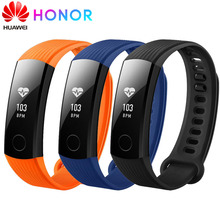 Huawei Honor Band 3 Smart Wristband Fitness Heart Rate Sleep Monitor 5ATM Waterproof Swimming Touchscreen Tracker SmartWatch цены