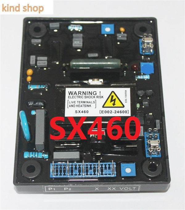 Automatic Voltage Regulator AVR SX460 for Generator 2pcs lot automatic voltage regulator avr sx460 for generator 12972 and r230