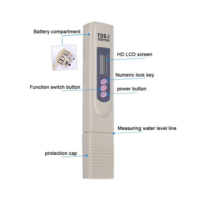 Newest Digital PH Meter Pen Tester Electric Test For Aquarium Pool Water Cosmetic Experiment WWO66